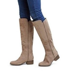 NWT Merona Evie Knee High Suede Boot